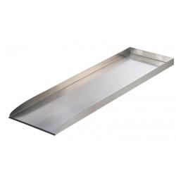 Wolga élément droit - cours d'eau inox 304 - 103x30x44cm