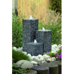 SIENA - 3 colonnes en granite   LED