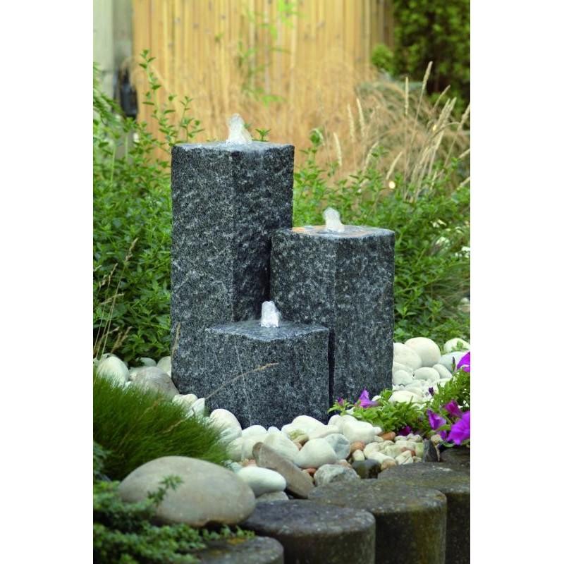 SIENA - 3 colonnes en granite   LED