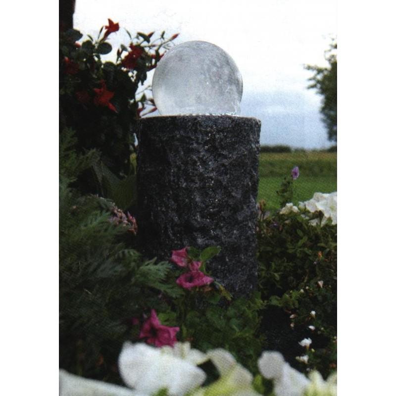LAS PALMAS - sphère en verre sur colonne   LED