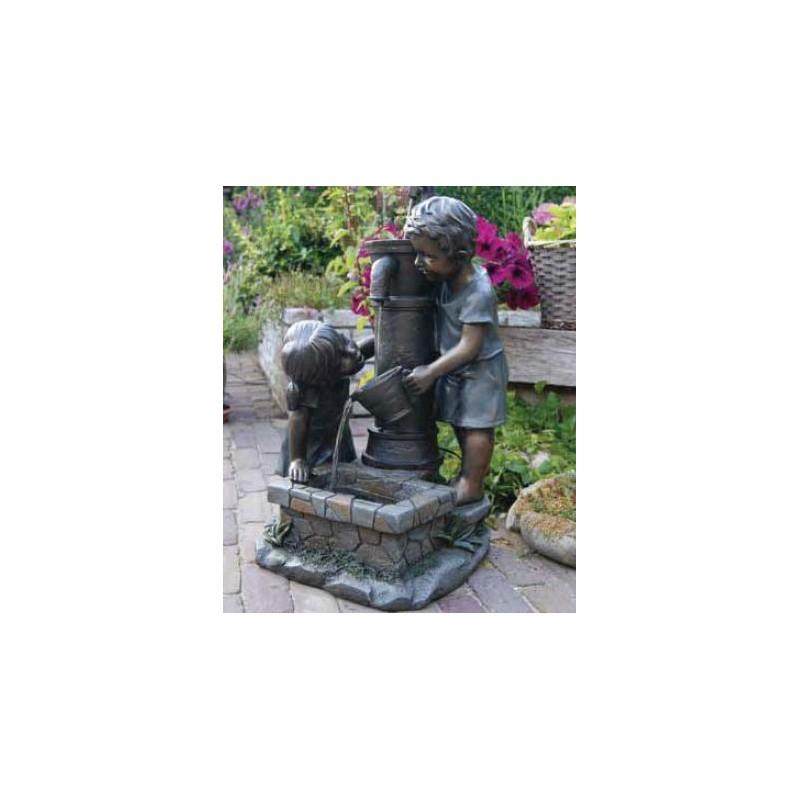 ATLANTA - Enfants à la fontaine