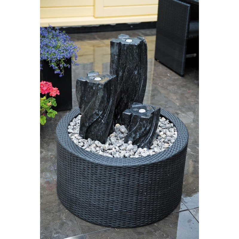 DECOWALL WICKER I - habillage pour fontaine