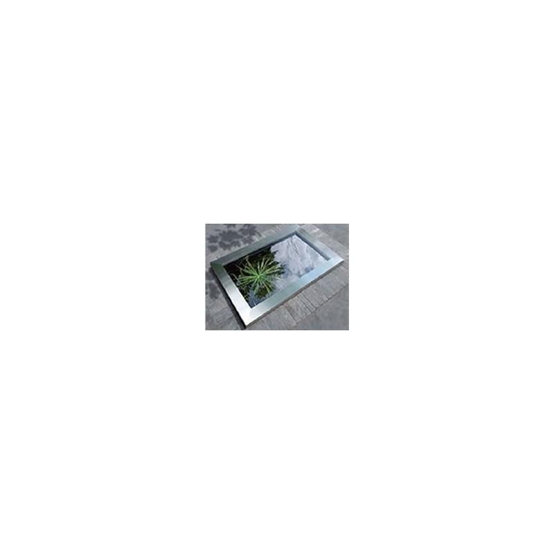 Cadre inox pour bassin préformé QUADRA C3