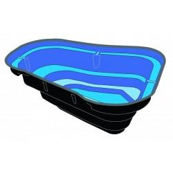 Kit bassin START 500   Pompe Xtra900 - 500 L, 1m80