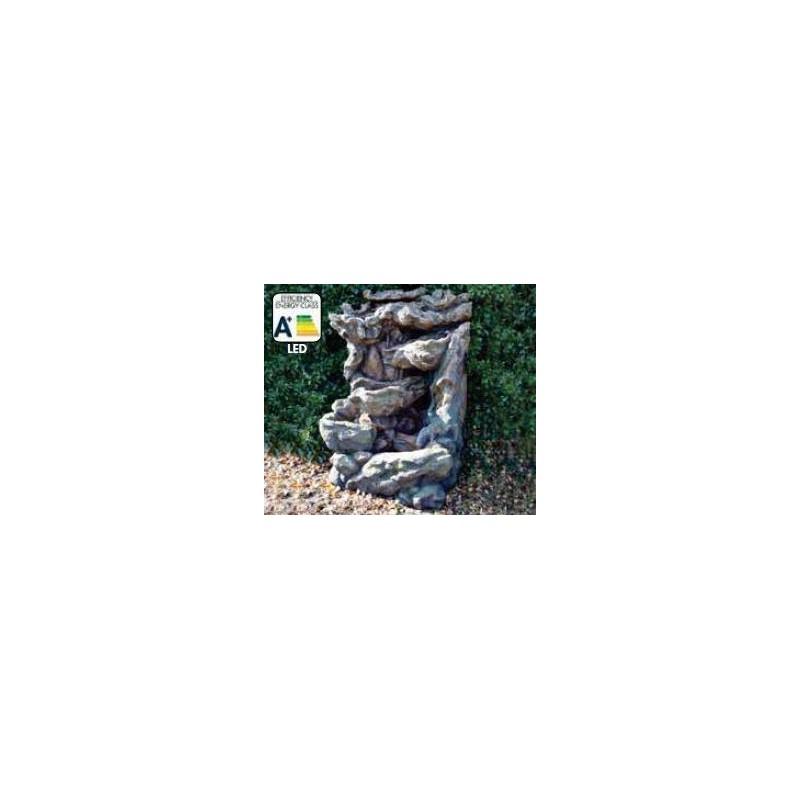 DALLAS - Fontaine naturelle tronc d'arbre   LED