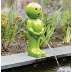 BOY IV - Gargouille Manneken pis vert grand