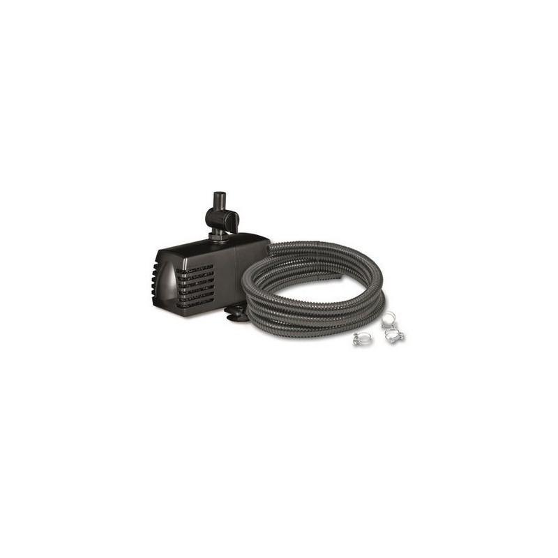 Pond Decor Set 900 - Pompe avec tuyau pour gargouille
