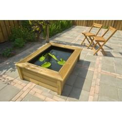 Quadro Wood I - cadre bois pour bassin Victoria Quadro 5