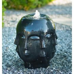 ALMERIA - fontaine sculpture multi-visages