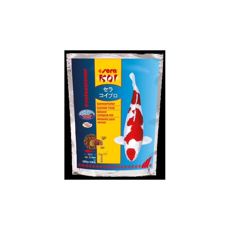 Sera Koi Professional - Aliment composé été - 2200 g