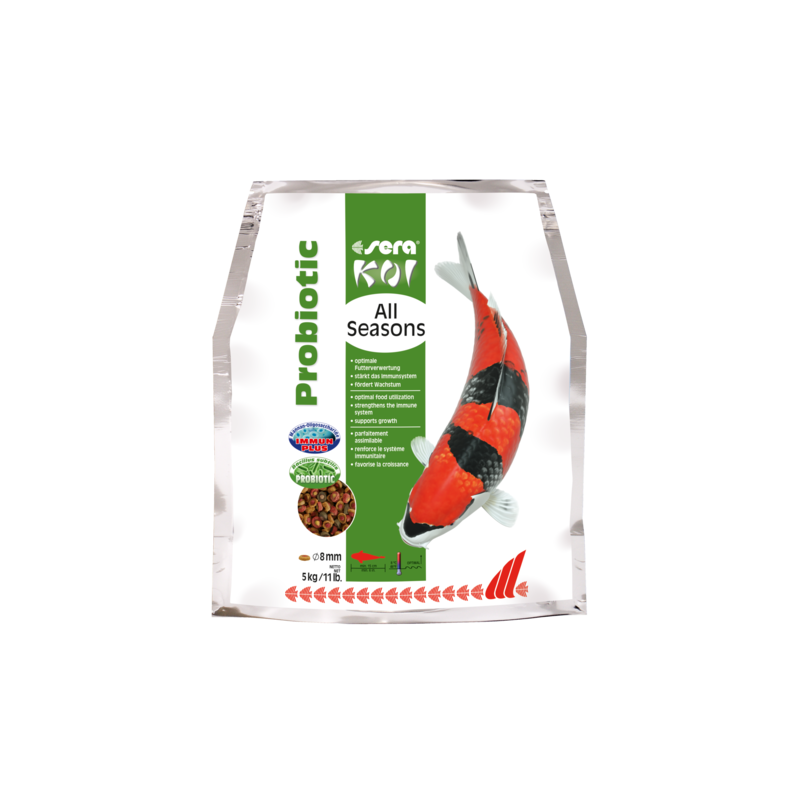 Sera Koi - All Seasons Probiotic - 5 kg