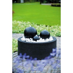 DECOWALL WICKER II - habillage pour fontaine