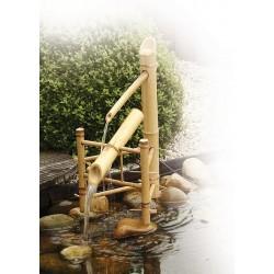 BAMBOO - Fontaine balançoire en bambou