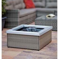 AMORA DAVEPORT - fontaine de terrasse avec cloche d'eau