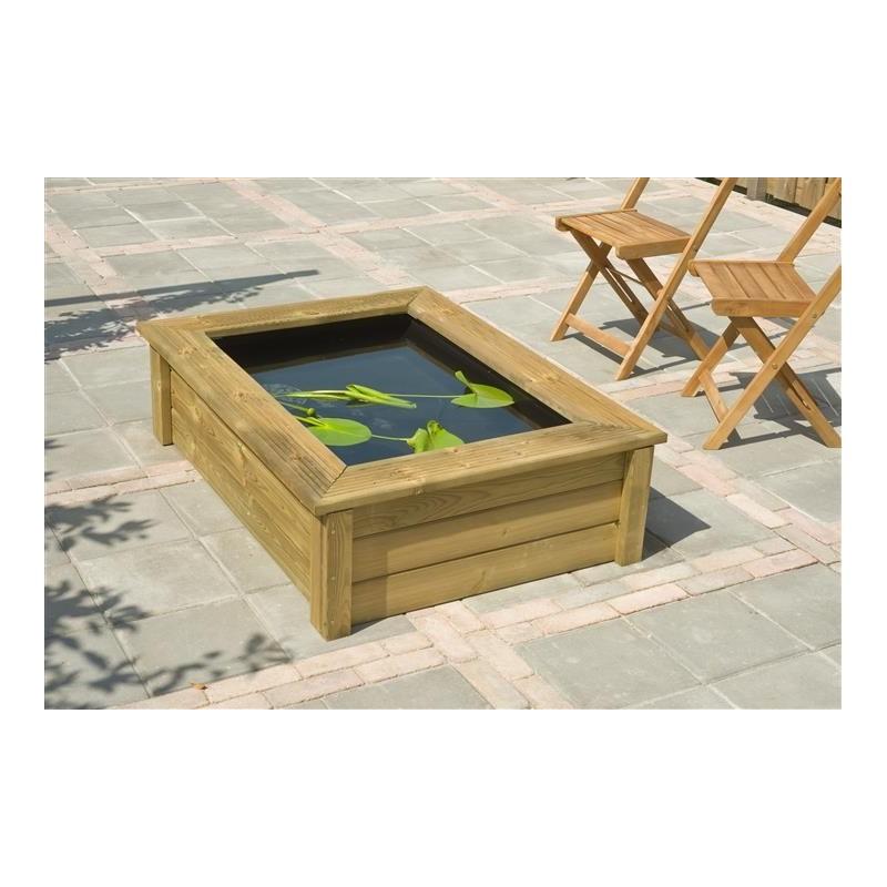 Quadro Wood II - cadre bois pour bassin Victoria Quadro 6