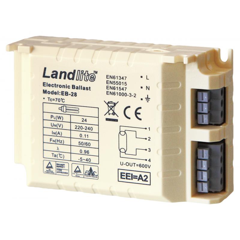 Ballast électronique 24W pour système UV-C sera PL 24W