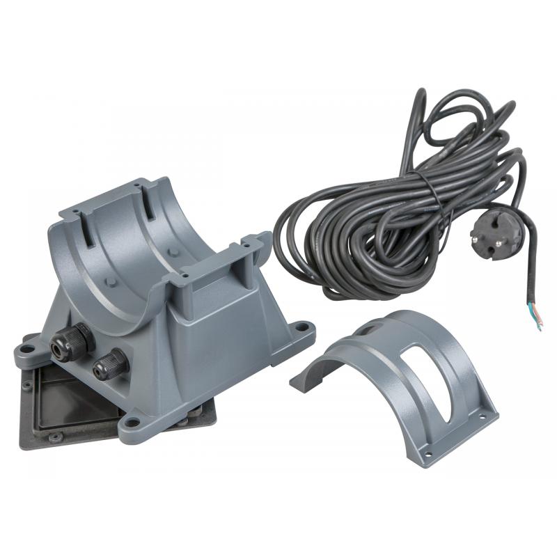 Pied de montage + cable 10m + collier tendeur pour système UV-C 24W