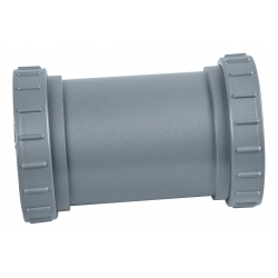 Tuyau principal avec anneaux filetés pour système UV-C 24W