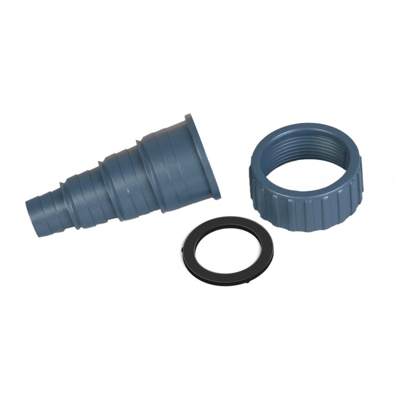 Raccord tuyau variable + écrou raccord + joint torique Ø 20/25/32/40 mm pour système UV-C sera pond 55X+ pompes sera pond PP