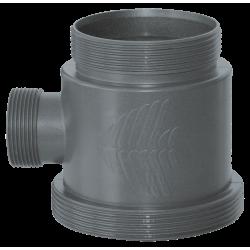 Embout avec ouverture pour tuyau pour système UV-C sera PL 24W+ sera 55W