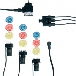 MINIBRIGHT 3x8 LED - 3 lampes de bassin
