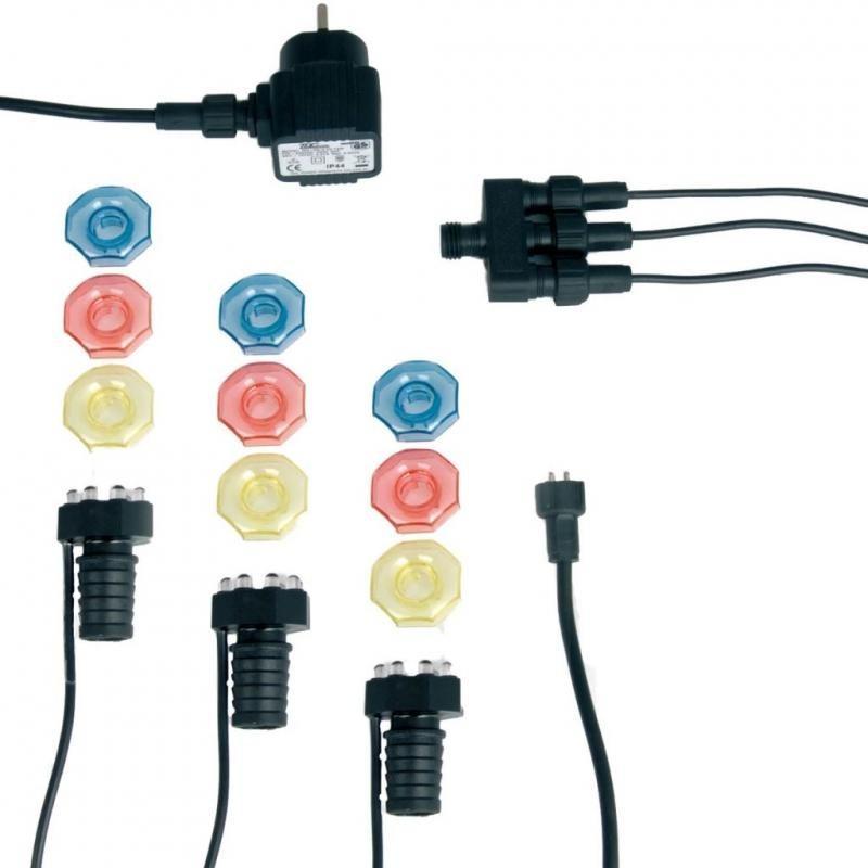 MINIBRIGHT 3x8 LED - 3 lampes de bassin