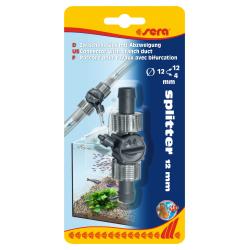 Raccord avec bifurcation pour tuyau Ø 12/12/4 mm