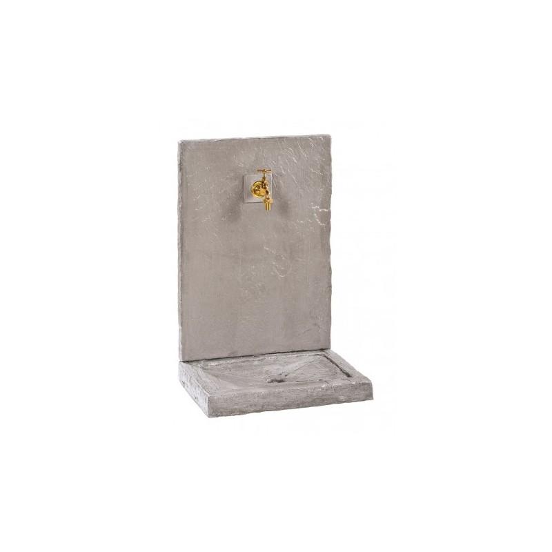 Fontaine petit modèle Ardoisee Zinc