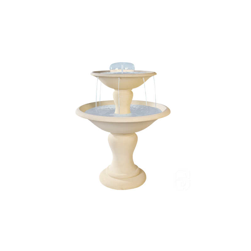 Fontaine 710 2 Etages Ton Blanc